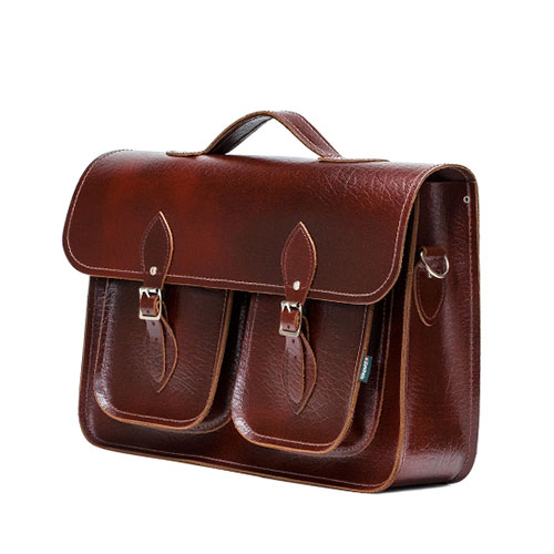 Twin Pockets Satchels