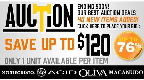 Auction: Place your bid!