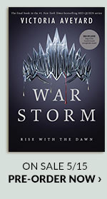 War Storm (B&N Exclusive Edition) (Red Queen Series #4) by Victoria Aveyard On Sale 5/155 | PRE-ORDER NOW