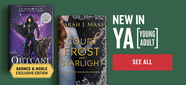 NEW IN YA [YOUNG ADULT] | SEE ALL