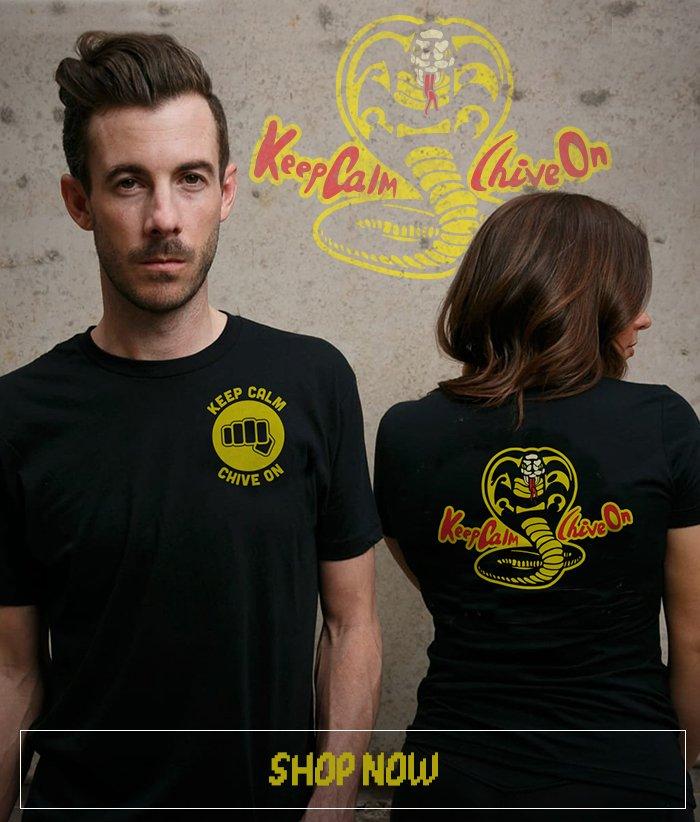 Keep Calm Cobra Kai Tee
