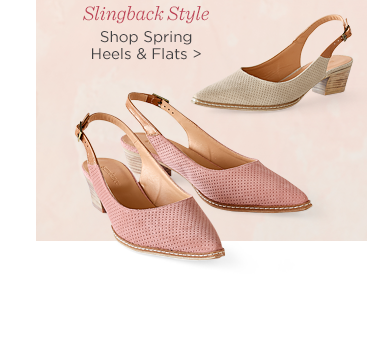 Shop Spring Heels and Flats
