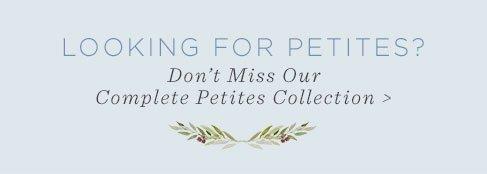 Shop Our Petites Collection
