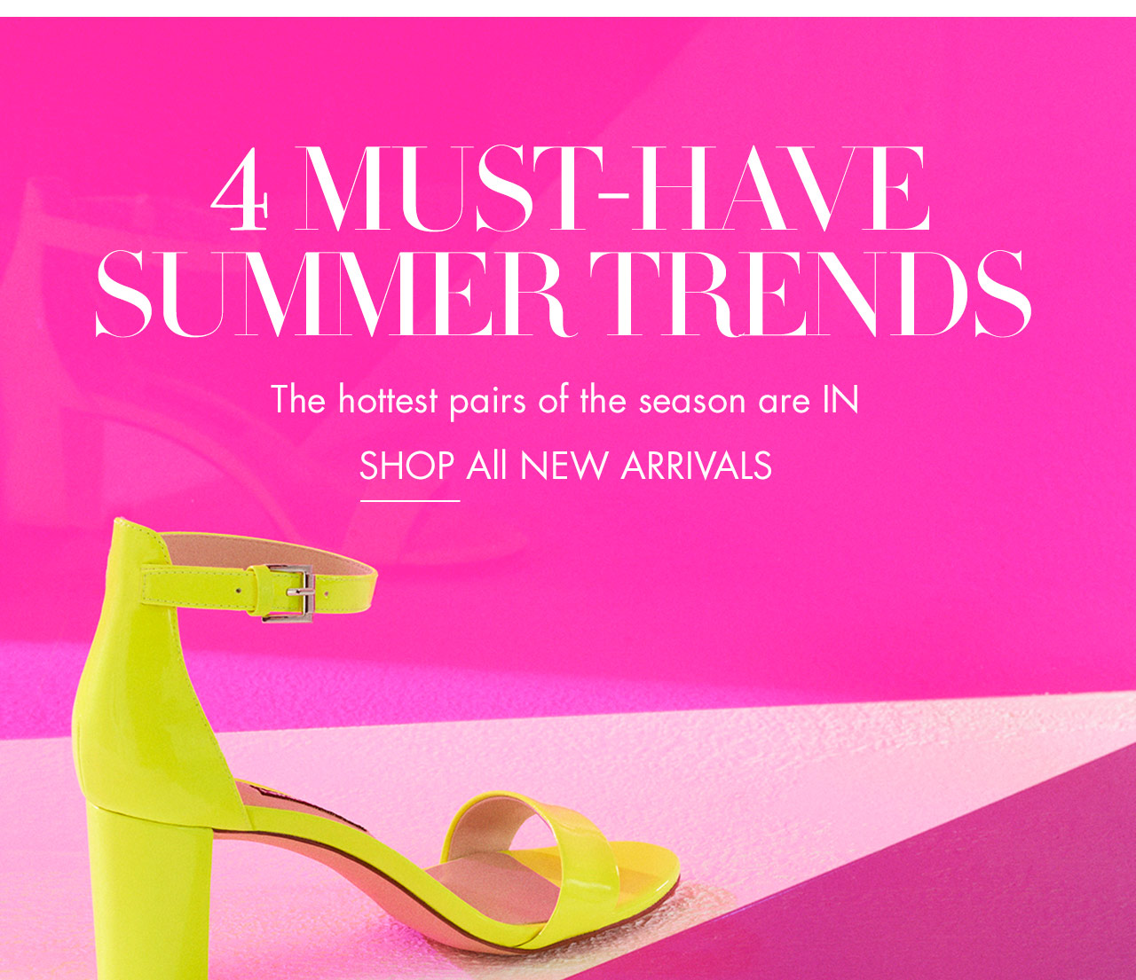 4 Must-Have Summer Trends - Shop Now