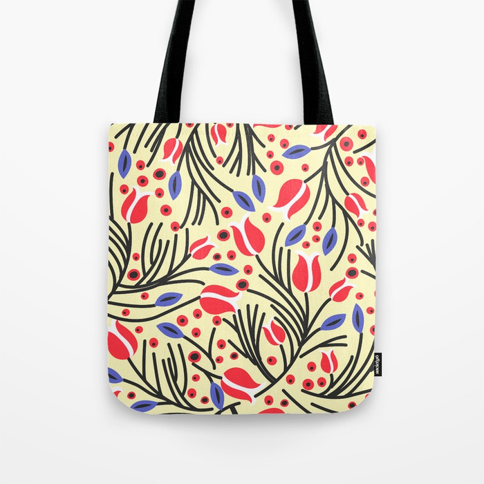 6 Waves of Flower (Bright Color Floral) by Color Bucket