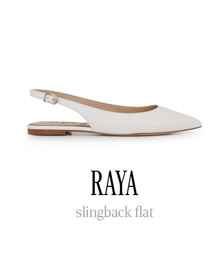 RAYA slingback flat