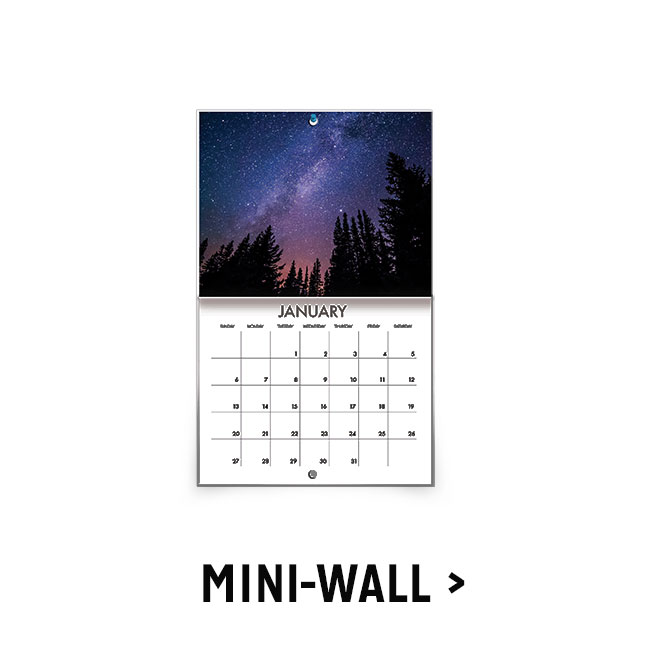 Shop Mini Wall Calendars