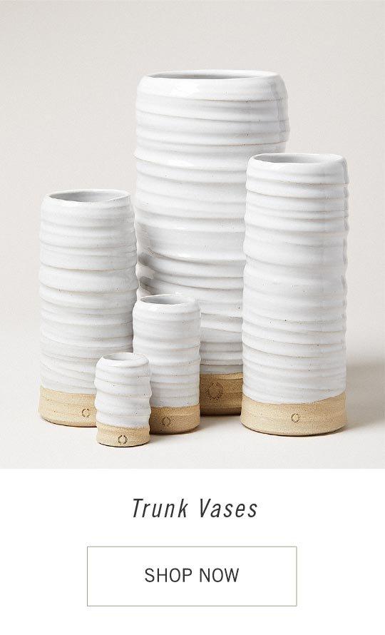 Trunk Vases