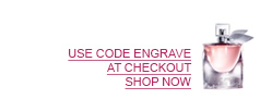 USE CODE ENGRAVE AT CHECKOUT. SHOP NOW