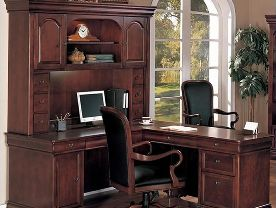 ORGANIZE with EXECUTIVE DESKS!
