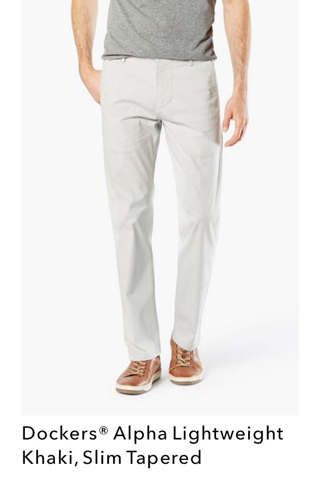 SHOP ALPHA LIGHTWEIGHT KHAKI