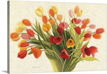 Spring Tulips by Shirley Novak