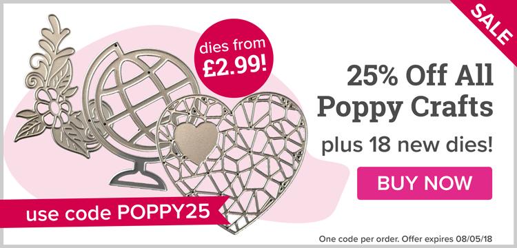 25% Off All Poppy Crafts!