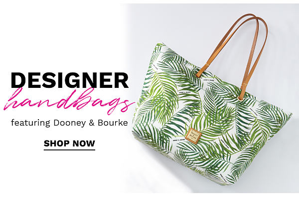 Designer handbags featuring Dooney & Bourke. Shop Now.