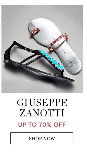 GIUSEPPE ZANOTTI, UP TO 70% OFF, SHOP NOW