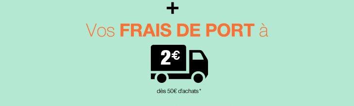 Vos frais de port  2 euros*