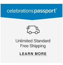 Celebrations Passport: Unlimited Standard Free Shipping
