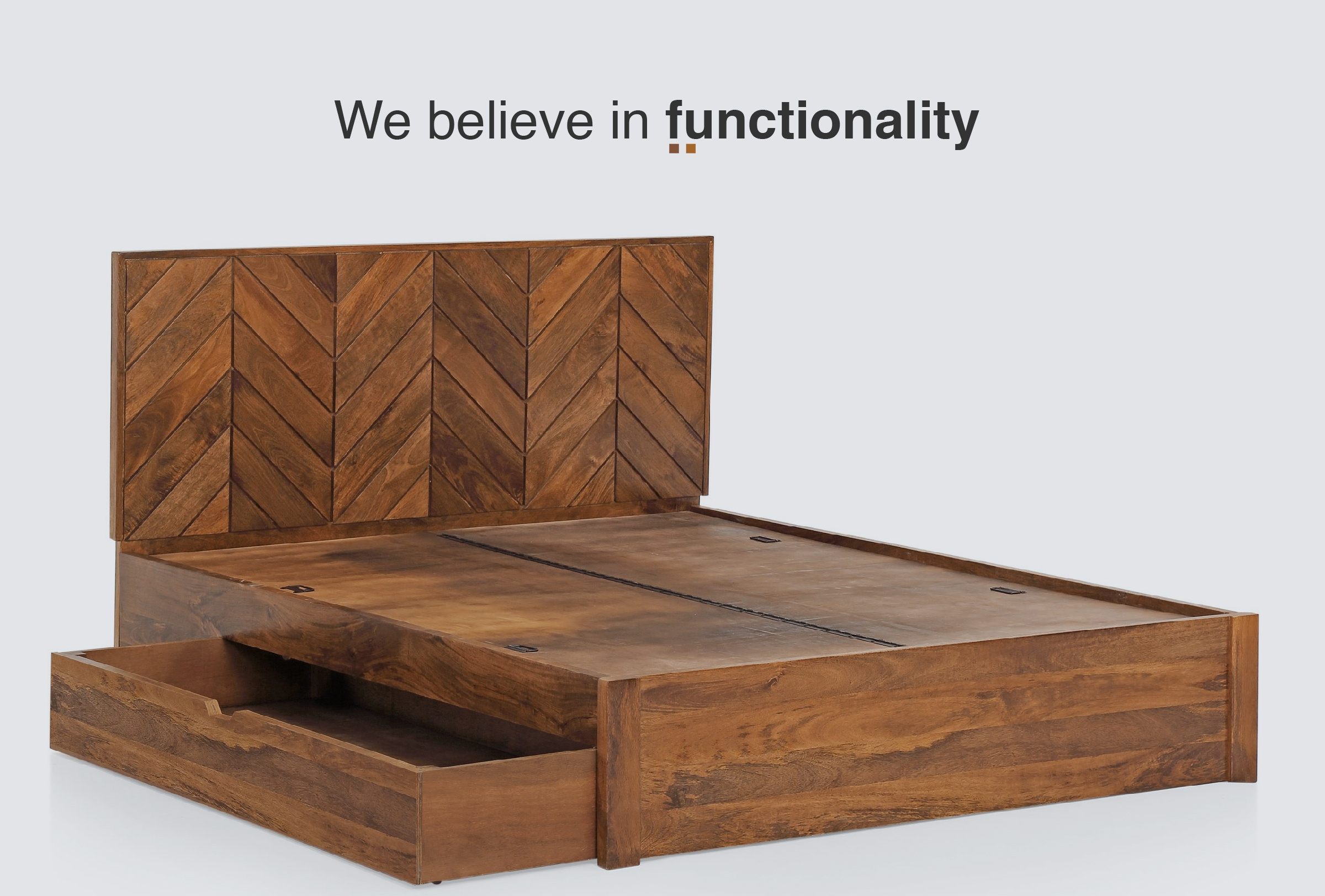 We belive in functionality