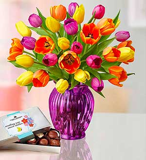 Radiant Tulips for Mom SHOP NOW