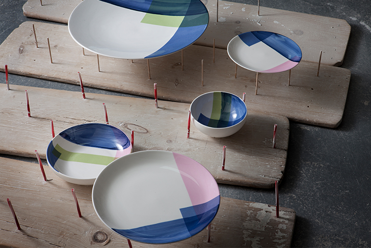Kim Thoms tableware collection for1882Ltd
