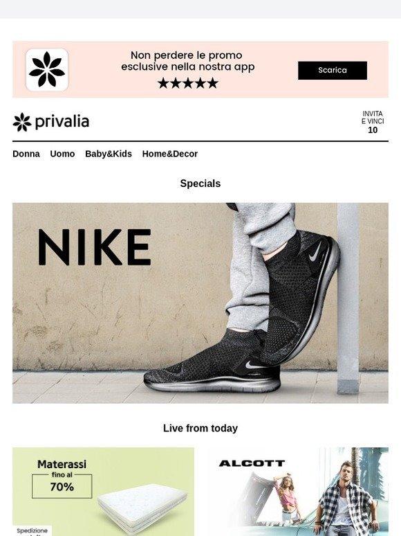another chance 8a762 af308 Privalia Nike, Occasioni Materassi fino al 70%, Alcott, Diesel Jeans,  Tucano Urbano, Art Line, U.S. Polo Assn e tanto altro su Privalia.  Milled