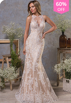 dcf48b642d1 Tulle Jewel Neckline Natural Waistline Mermaid Wedding Dress With Lace  AppliquesUS  188.00 US  469.99