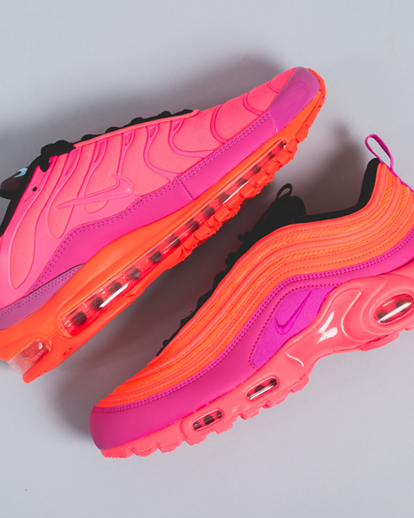 06cc17bb9 This time the Nike Air Max 97 Plus shows a Nike Air Max Plus, otherwise  known as Nike TN, with a Nike Air Max 97 midsole, well recognizable for its  big ...