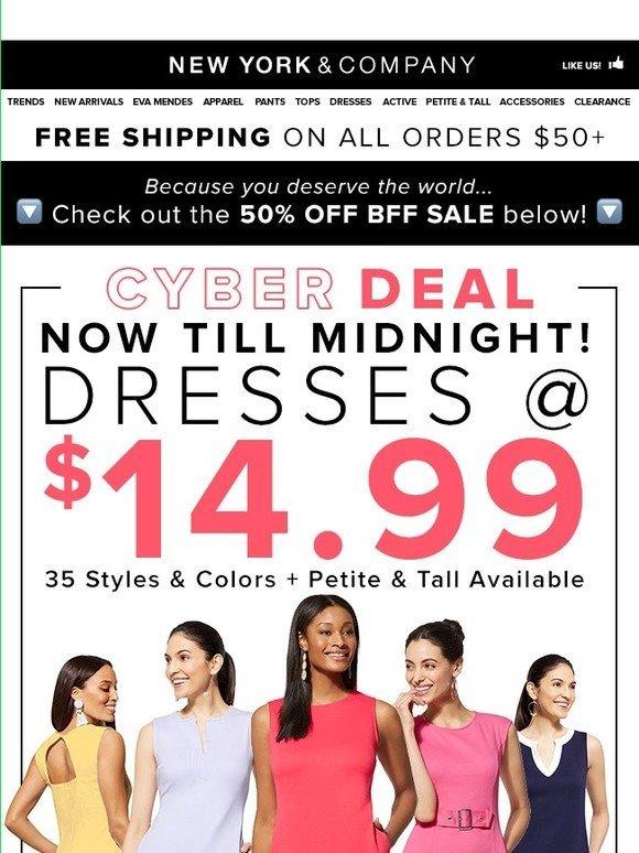 6cb6f37aa1 New York   Company   14.99 Dresses