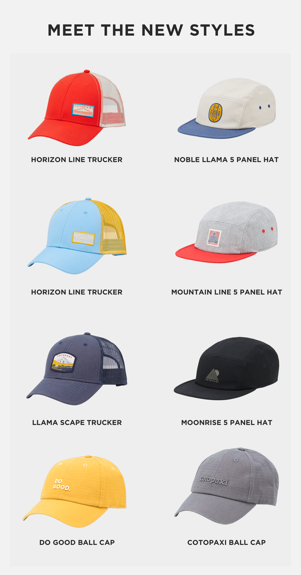 e65bdf8eee2d5 Cotopaxi  New Arrivals—7 Fresh Hat Designs