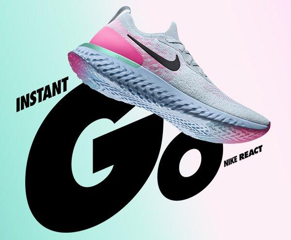 01f9bc768327 Finish Line  Nike Epic React crushin  it again.