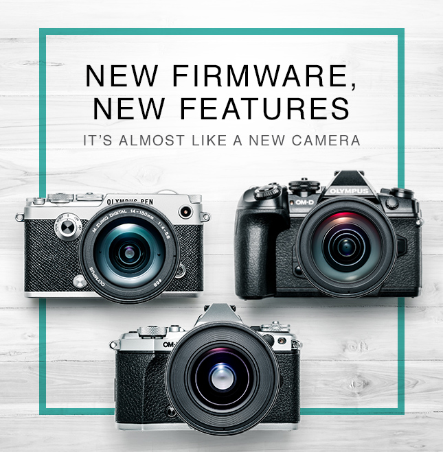 NEW FIRMWARE, NEW FEATURES - ITS ALMOST LIKE A NEW CAMERA