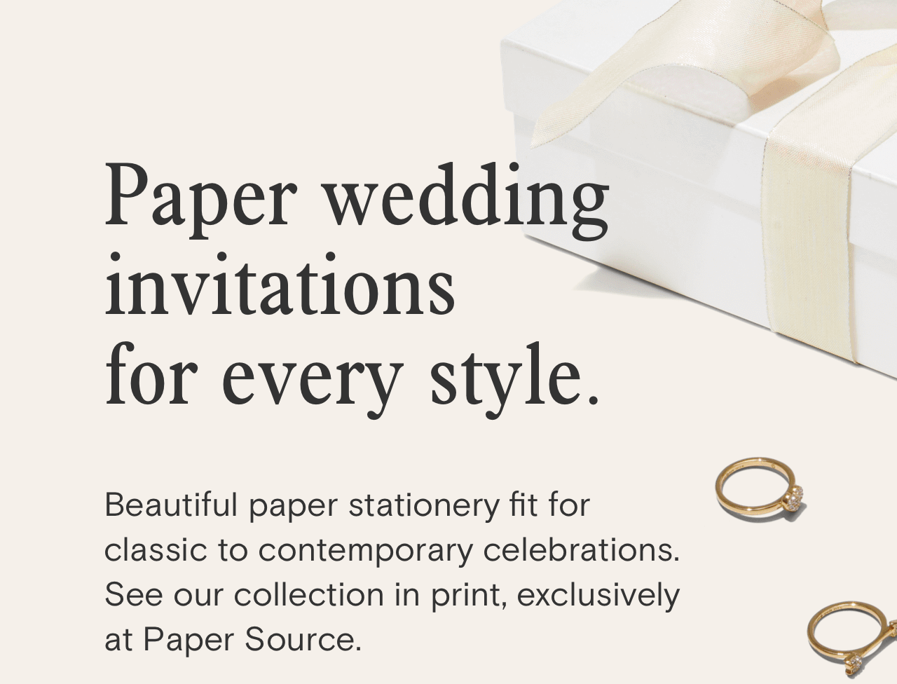 Paperless Post: Paper wedding invitations? Meet your match. | Milled