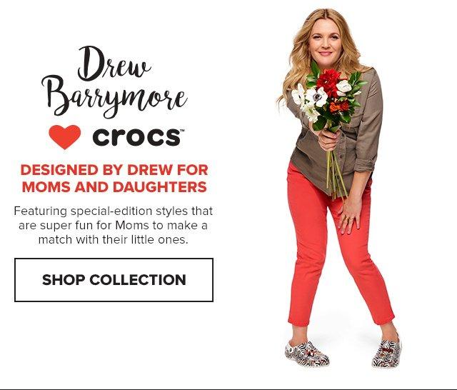 4f5e2da350aa Crocs  Introducing the new Drew Barrymore ♥ Crocs Chevron ...