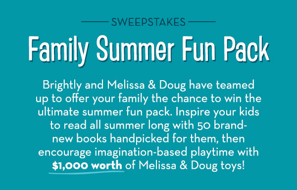 Melissa & Doug: Announcing Our Summer Fun Pack Sweepstakes! | Milled