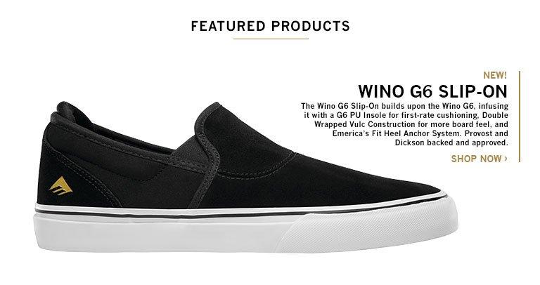WINO G6 SLIP-ON