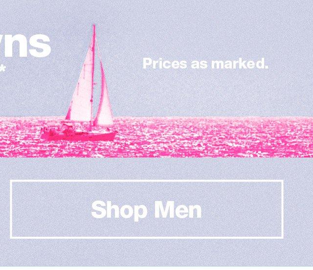 Shop Men's Markdowns