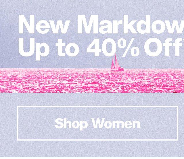 Shop Women's Markdowns