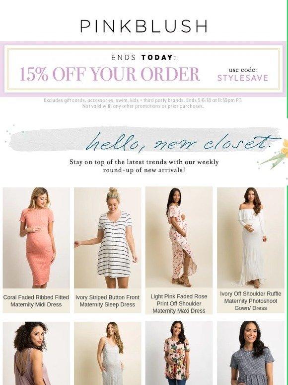 6674b7e5aa3e PinkBlush Maternity: READY, SET... NEW ARRIVALS! | Milled