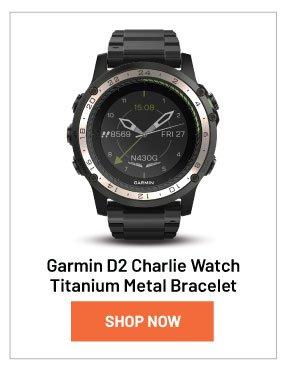 Garmin D2 Charlie Watch Titanium Metal Bracelet