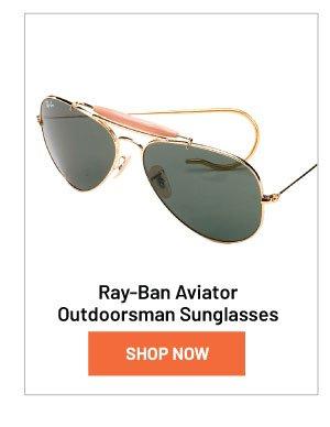 Ray-Ban Aviator Outdoorsman Sunglasses