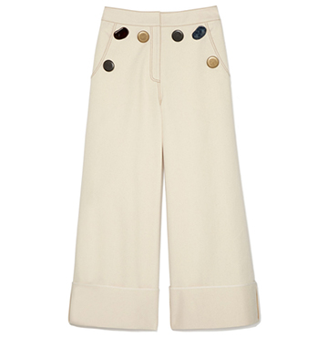 Rejina Pyo Bailey Button-Down Denim Trousers