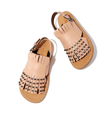 Light-Pink Jeweled Sandals Marni $960