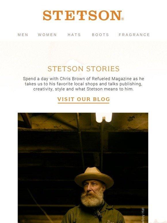 d455c5650e712 STETSON  Stetson Stories