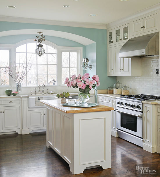Better Homes And Gardens Dreamy Kitchen Paint Colors Milled - Kitchen paint colors 2018