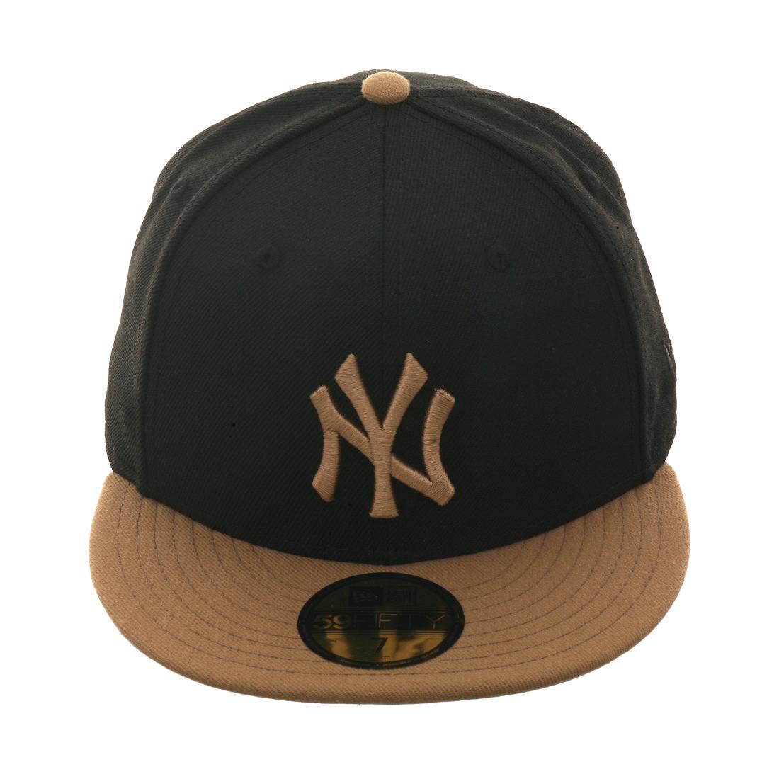 Hat Club Exclusive New Era New York Yankees Fitted Hat - 2T Black 0b12ee53eea