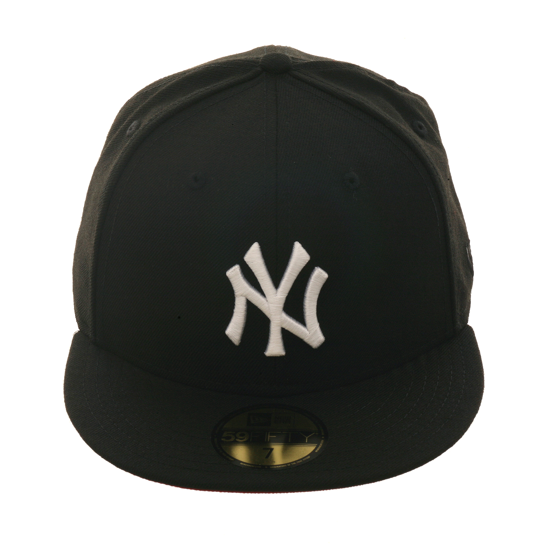 fdcf2537737 Exclusive New Era 59Fifty New York Yankees Hat w  Red Undervisor - Black