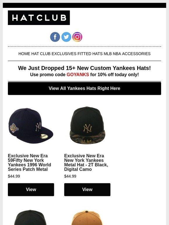 info for e2965 8d765 Hat Club  15+ New Yankees Hats Just Dropped 👍   Milled