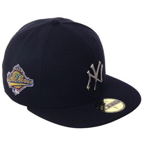 brand new b27d5 cd281 Exclusive New Era 59Fifty New York Yankees 1996 World Series Patch Metal