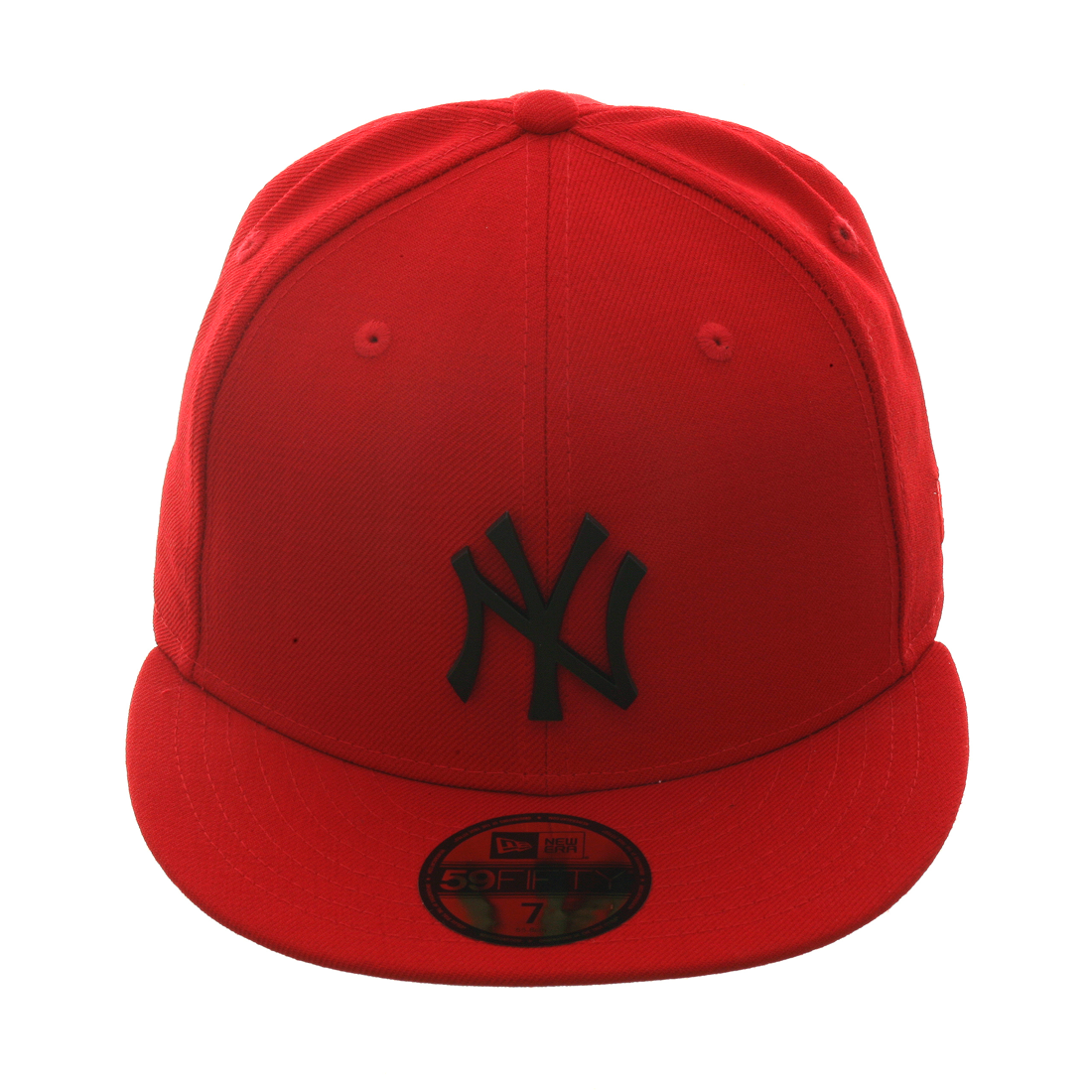 b9e70e99005 Exclusive New Era 59Fifty New York Yankees Matte Metal Hat - Red