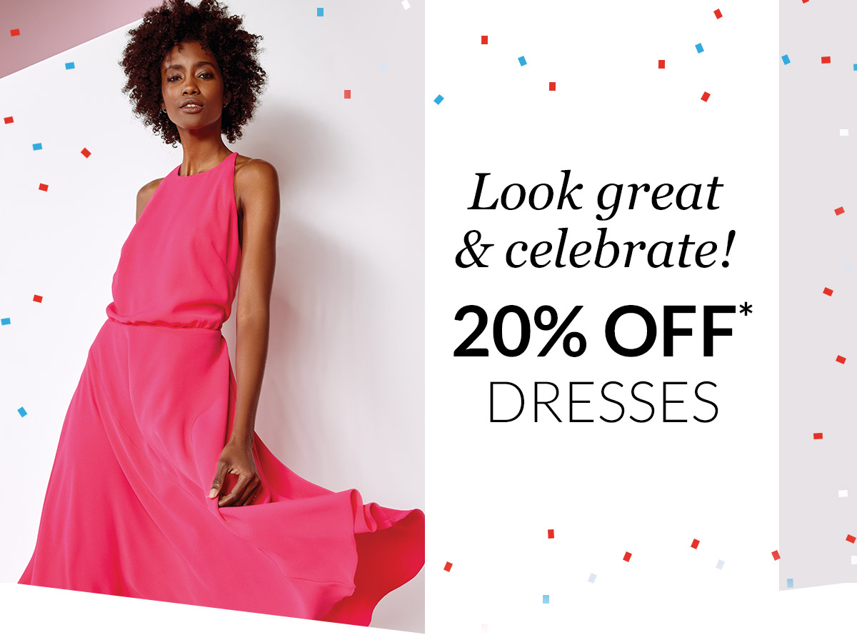 Debenhams: 20% off Dresses | RSVP in style this summer | Milled